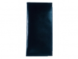 Pocket diary 2022 Luxury Leather Lines blue / blue
