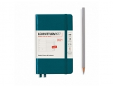 LEUCHTTURM1917 diary 2021 Pocket (A6) Weekly plannner & Notebook